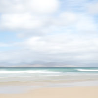 Calm Sea, Scarista Beach, Isle of Harris -Brian Cooke