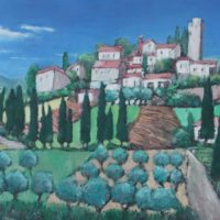 Small Town in Tuscany - Micahel Cull