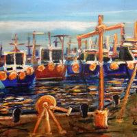 Fishing Harbour - George Meliniotis