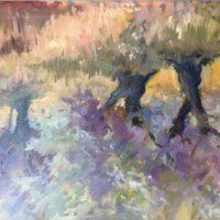 Olive Trees in Kephalonia - Gillian Flack