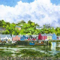 Quayside at Tobermory - Clive Patterson