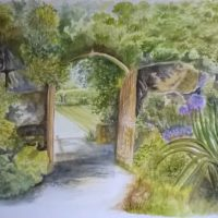 Hever Castle Archway - Margaret Gannon