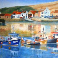 Three Fishing Boats - Joe Rowson