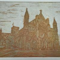 St Albans Cathedral: dusk - Annabel MacIver
