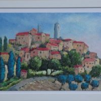Hill Town, Tuscany - Michael Cull