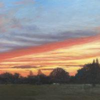 Sunset at Mill Hill Park (VII) - Diana Sandetskaya