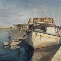 Harbour at Chania - Angela Roberts