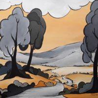 Shades of Grey Landscape - Morven Mathie